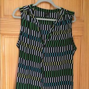 Worthington - sleeveless tunic - size XL